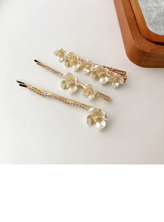 Lovely Alloy Hairpins (Set of 3)