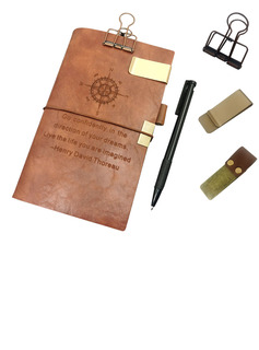 Groomsmen Gifts - Personalized Classic Notebook (Sold in a single piece)