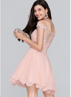 blush ice blue prom dress