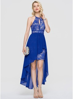 short navy prom dresses