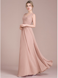 chiffon halter sheath wedding dress