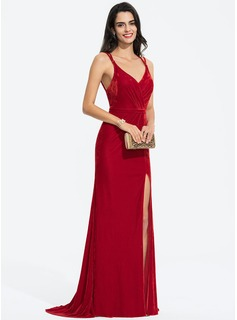full sleeve evening dresses