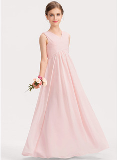 high neck chiffon dress