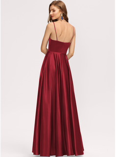 red trumpet formal dress