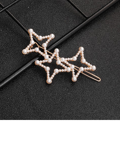 Classic Imitation Pearls Hairpins (Sold in single piece)