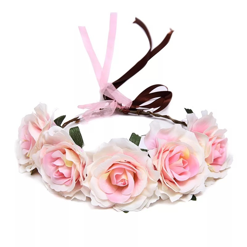 Ladies/Kids Beautiful Silk Flower Flower Girl's Headwear/Headbands (Sold in single piece)