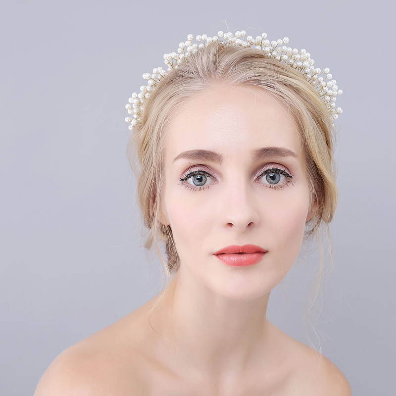 Gorgeous Imitation Pearls Tiaras