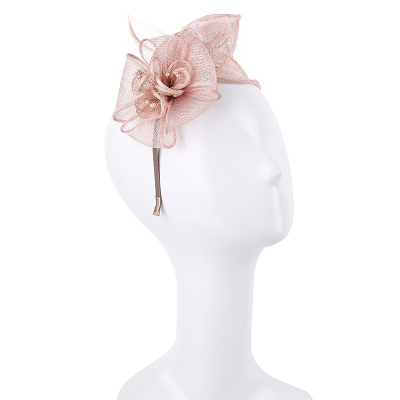 Dames Simple/Gentil/Jolie Batiste Chapeaux de type fascinator