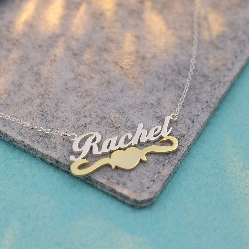 Custom Name Name Necklace - Birthday Gifts