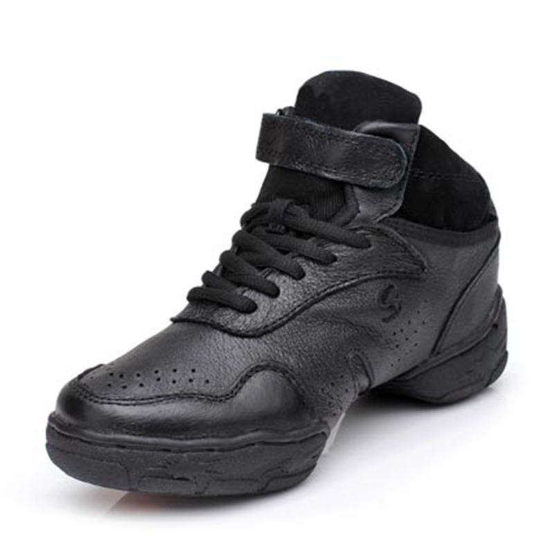 Women's Real Leather Sneakers Sneakers Dance Shoes
