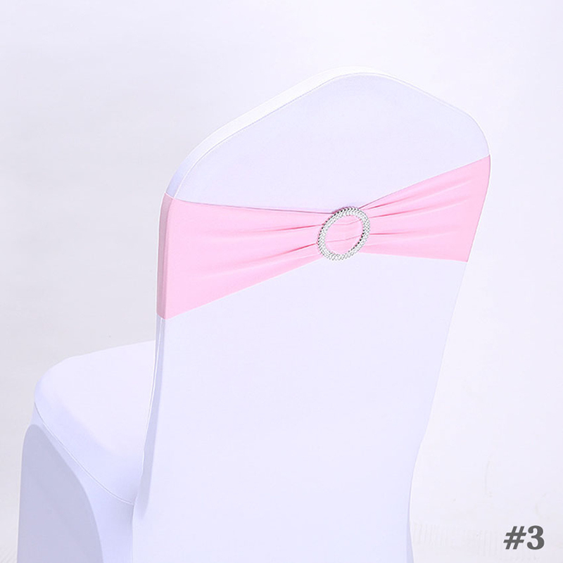 Polyester Chair Ribbon Sash Chair Ribbon Sash (set of 10)