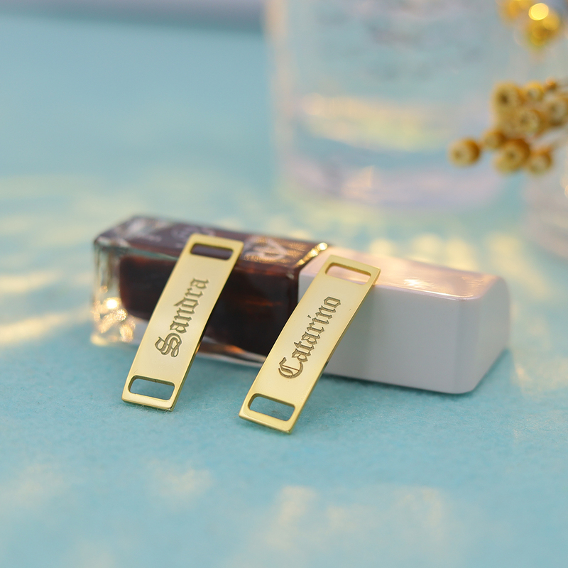 Groomsmen Gifts - Personalized Copper Personalized Shoe Buckle (Sold in a single piece)