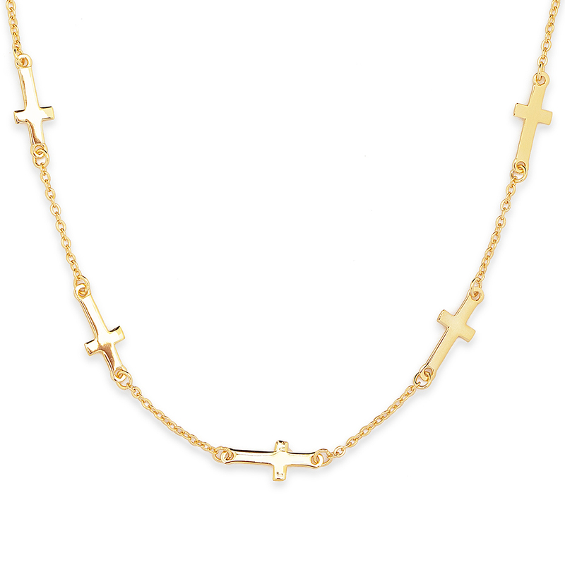 18k Gold Plated Silver Religious - Birthday Gifts Mother's Day Gifts