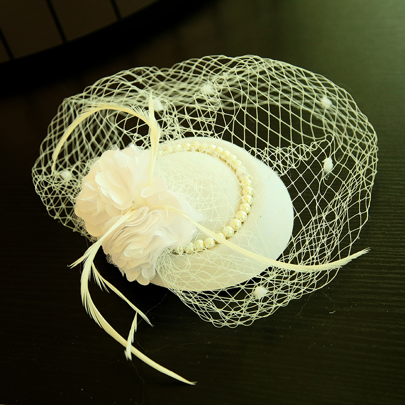 Dames Beau Feather/Fil net/Fleur en soie/Velours Chapeaux de type fascinator/Chapeaux Tea Party