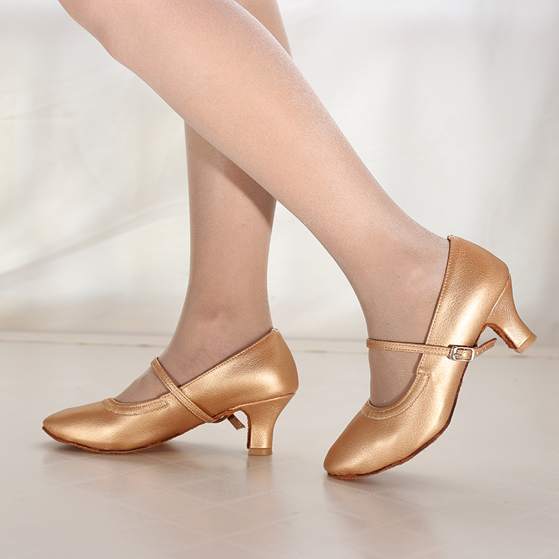 Women's Leatherette Heels Modern Jazz Dance Shoes