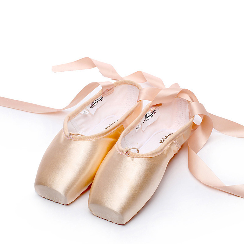 Women's Satin Pointe Shoes Dance Shoes