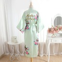 Bride Gifts - Beautiful Classic Elegant Charmeuse Robe (Sold in a single piece)
