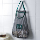 Casual Classic Polyester PVC Storage Bag (Set of 2)