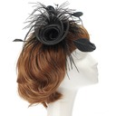 Eye-catching Net Yarn/Feather Fascinators