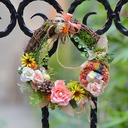 Nice Rattan Straw Decorations/Headdress Flower -