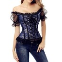 Spandex/Lace/Lycra Off-the Shoulder Shapewear
