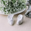 Conch Design Ceramic Salt & Pepper Shakers (Set of 2 pieces)