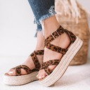 Women's Suede Flat Heel Sandals shoes