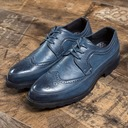 Men's Leatherette Lace-up Brogue Casual Men's Oxfords