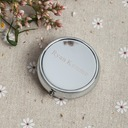 Personalized Plastic/Stainless Steel Compact Mirror (Set of 4)