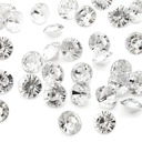 "2/5""(1cm) Pretty Diamond Pieces (bag of 100)"