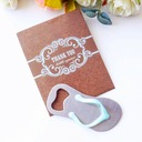 Flip Flop Bottle Opener in Thank You Giftbag Wedding Favors (Sold in a single piece)
