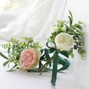 Girly Free-Form Satin Bridesmaid Bouquets/Decorations (Sold in a single piece) -