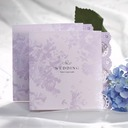 Floral Style Z-Fold Invitation Cards (Set of 50)