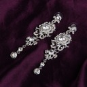 Vintage Alloy/Rhinestones With Rhinestone Ladies' Earrings