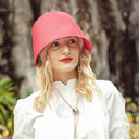 Ladies' Special/Charming Polyester Bowler/Cloche Hats/Beach/Sun Hats (196250344)