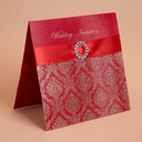 Blomstrete Stil Top Fold Invitation Cards (Sett Av 50)