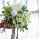 Lovely Hand-tied Artificial Silk Bridal Bouquets/Bridesmaid Bouquets -