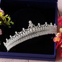 Ladies Beautiful Zircon Tiaras With Cubic Zirconia (Sold in single piece)