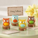 Owl Shaped Resin Place Card Holders (Set of 4)