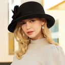 Ladies' Fashion/Elegant/Simple Wool Floppy Hat
