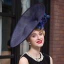 Ladies' Elegant Net Yarn Bowler/Cloche Hat/Kentucky Derby Hats