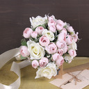 Classic Hand-tied Ribbon/Silk Flower Bridal Bouquets (Sold in a single piece) - Bridal Bouquets