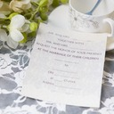 Klassisk stil Flat Card Invitation Cards (Sett Av 50)