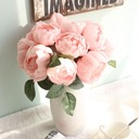 Refined Free-Form Fabric Bridesmaid Bouquets/Decorations -
