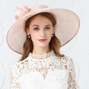 Ladies' Fashion/Glamourous/Fancy Cambric With Flower Beret Hat