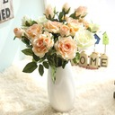 Free-Form Satin Bridal Bouquets/Flower Gifts (Sold in a single piece) -