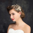Ladies Eye-catching Rhinestone/Alloy Headbands