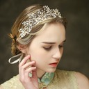 Amazing Rhinestone/Imitation Pearls Headbands