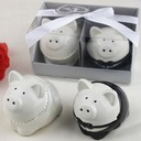 Amazing Ceramic Salt & Pepper Shakers (Set of 2)