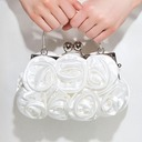 Elegant Silk Clutches/Wristlets/Top Handle Bags/Bridal Purse/Evening Bags